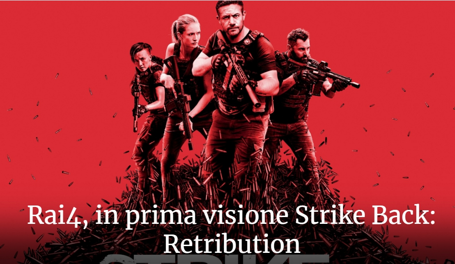 Strike back Retribution Rai 4