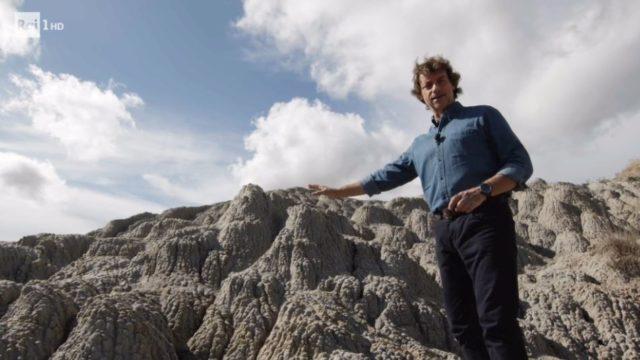 Superquark diretta 15 luglio, Alberto Angela in Val d'Orcia
