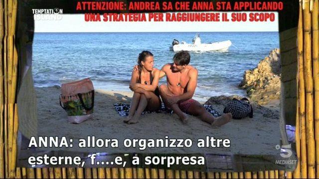 Temptation Island 7 diretta 16 luglio anna