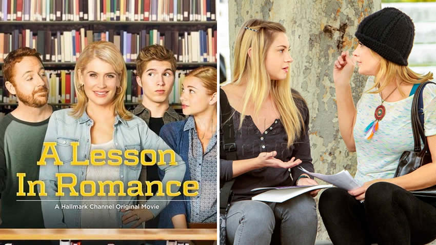 Una famiglia al college film Tv8