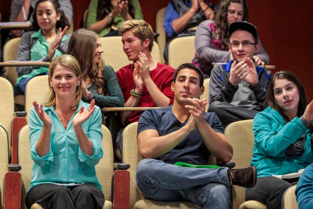 Una famiglia al college film attori