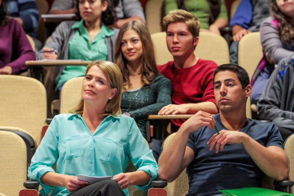 Una famiglia al college film finale