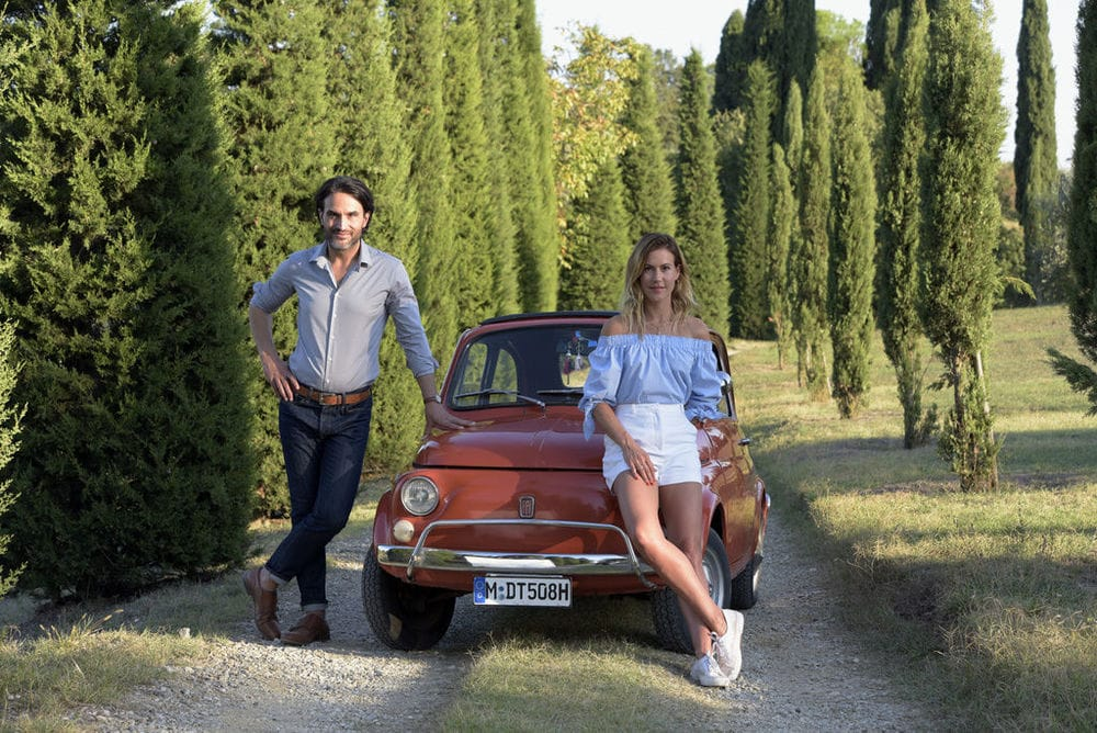 Un'estate in Toscana film dove è girato