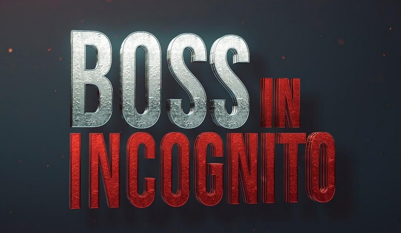 Boss in incognito 2020