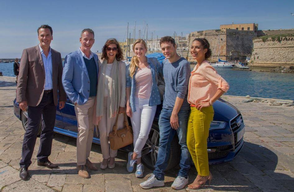 Crociere di nozze Puglia film attori