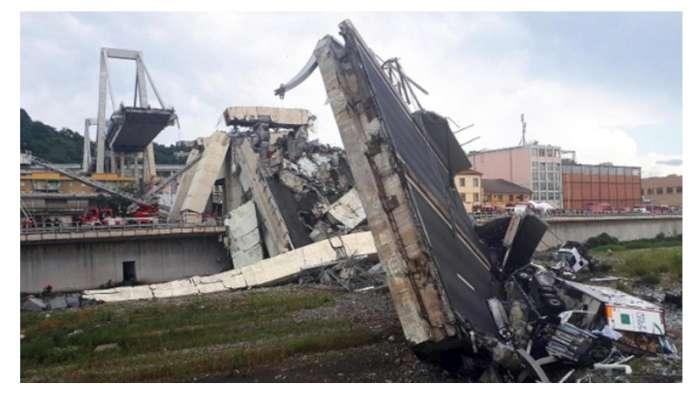 Crollo Ponte Morandi omaggio della Rai