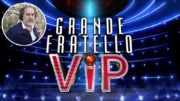 GF Vip 5 Fulvio Abbate concorrente ufficiale