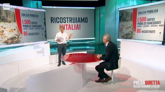 PresaDiretta puntata 24 agosto - Riccardo Iacona intervista il Sindaco di Norcia