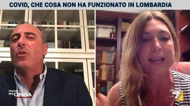 In Onda 4 agosto - Francesca Nava incalza Giulio Gallera