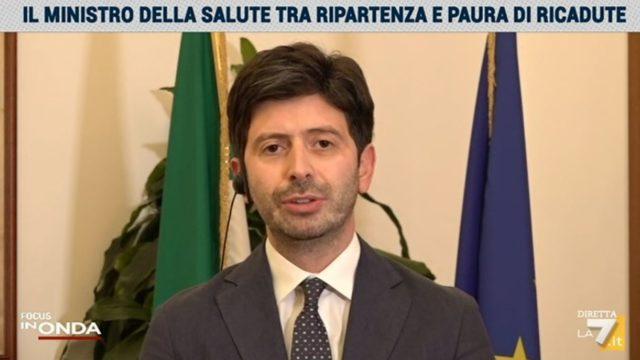 In Onda, Ministro Speranza e Matteo Salvini nella puntata del 4 agosto