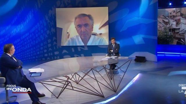 L'intervento di Bernard Henry-Lévy