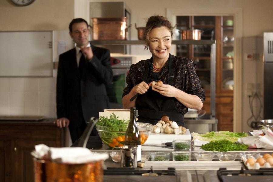 La cuoca del Presidente film attori