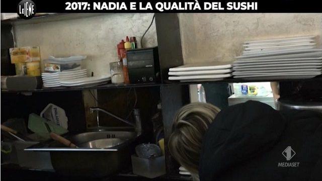 Le Iene per Nadia diretta 13 agosto sushi