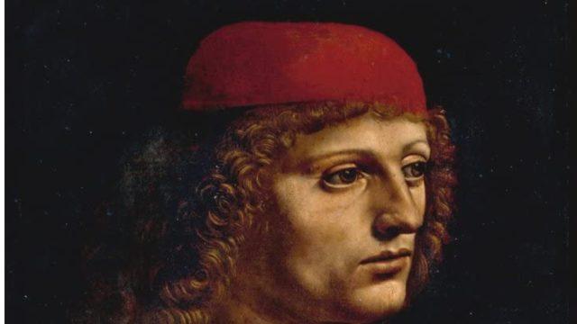 Leonardo serie tv ritratto di un giovane musicista