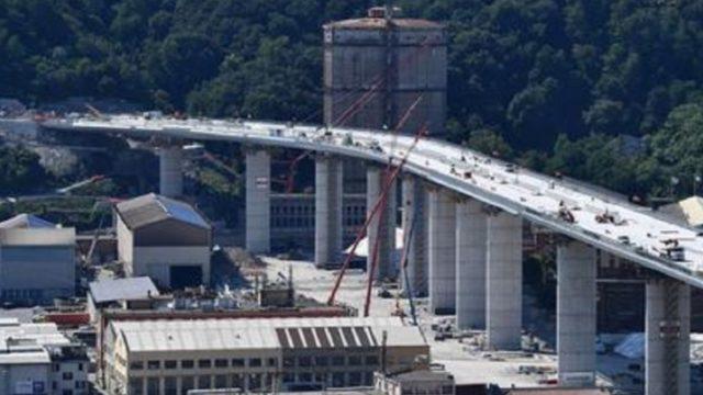 Crollo Ponte Morandi omaggio Rai, il nuovo ponte di Genova