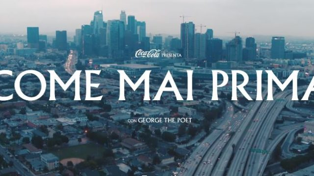 Il video della pubblicità Coca Cola 2020
