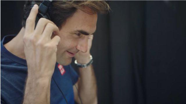 Pubblicità Barilla e Roger Federer