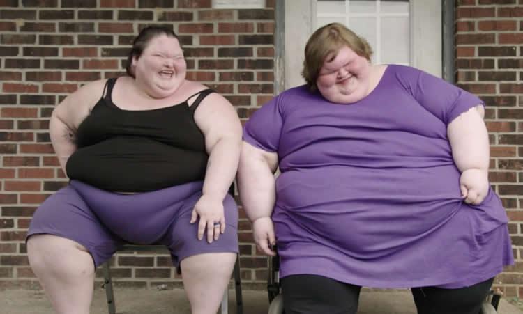 Sorelle al Limite quanti chili pesano