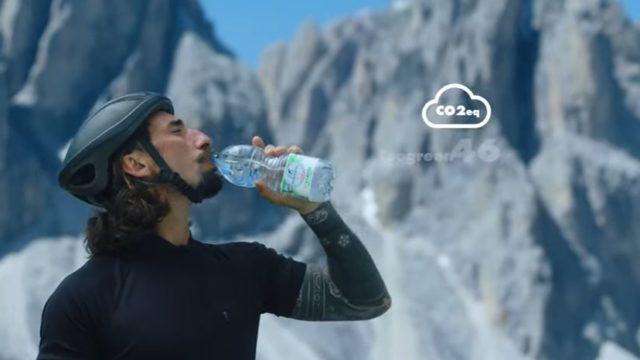 Il video della pubblicità San Benedetto 2020 con Brumotti