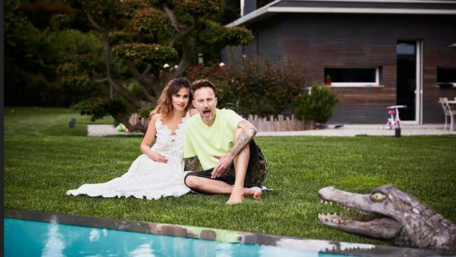 The Facchinettis Real Time, Facchinetti e la moglie