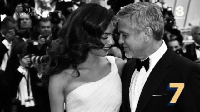 Vite da copertina diretta - George e Amal Clooney