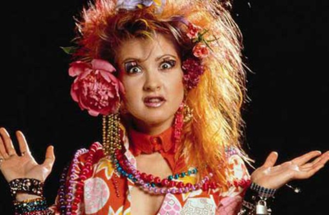 Musica anni 80 in tv Cindy Lauper