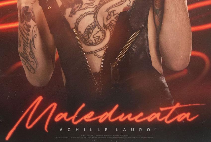 Achille Lauro Maleducata singolo