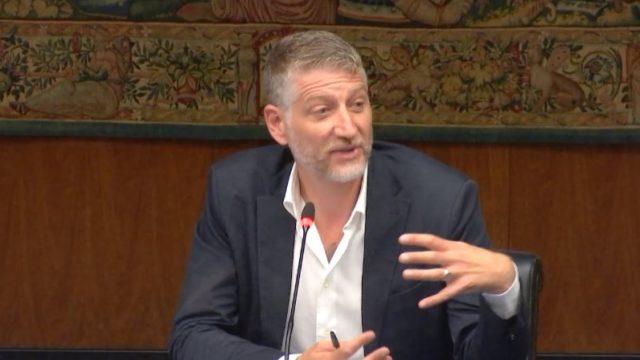 Seconda Linea conferenza stampa - Parla Alessandro Giuli