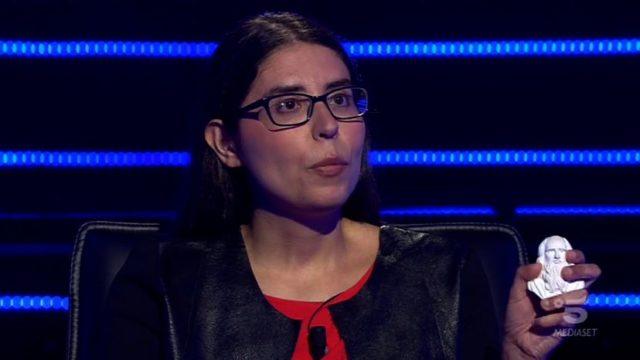 Chi vuol essere milionario diretta 10 settembre - Antonella e il suo portafortuna