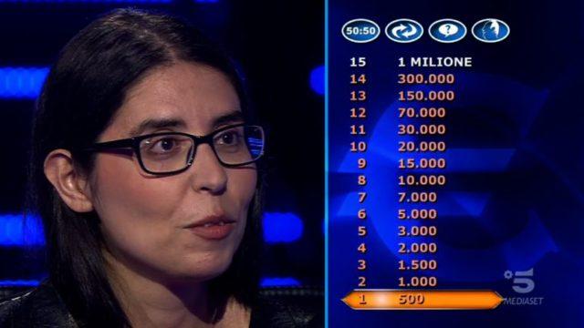 La seconda concorrente della prima puntata è Antonella Alemanni