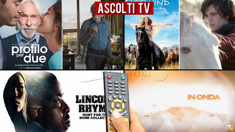 Ascolti TV martedì 1 settembre 2020