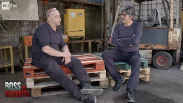 Boss in incognito diretta 8 settembre - La trasformazione Max Giusti