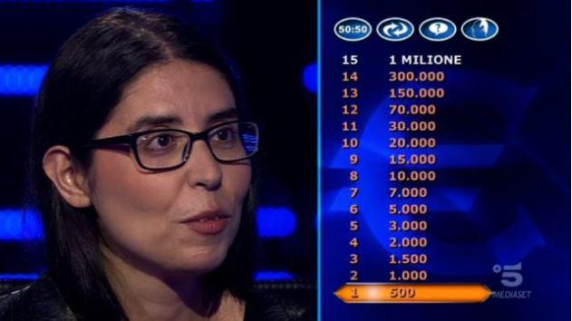 Chi vuol essere milionario 17 settembre, chi è la concorrente Antonella Alemanni