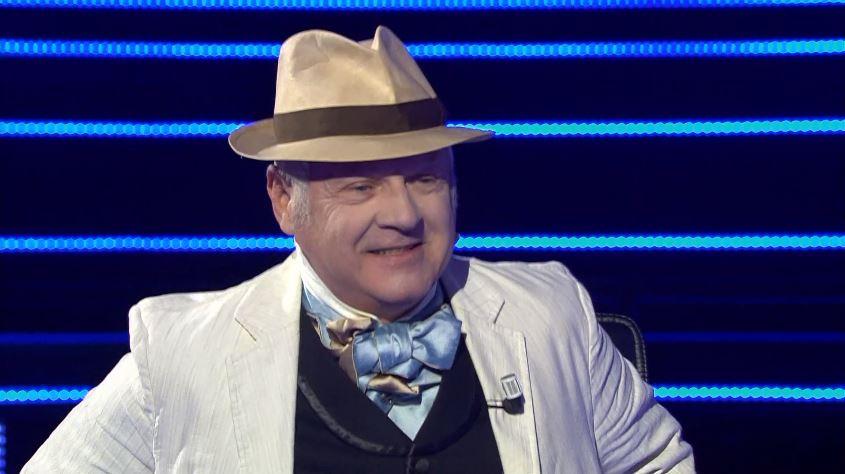 Chi vuol essere milionario 17 settembre, gioca il costumista Alberto Spiazzi