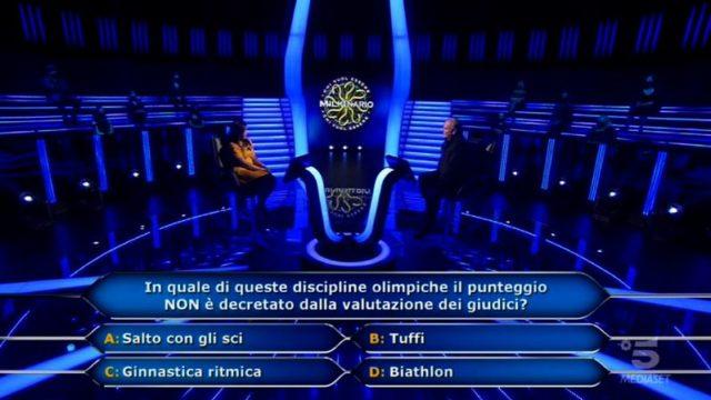Chi vuol essere milionario 22 settembre, diretta - Zafiira alla quarta domanda