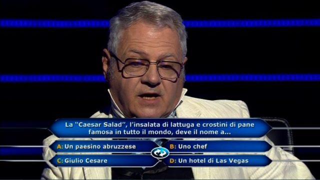 Chi vuol essere milionario 17 settembre - Decima domanda Alberto Spiazzi