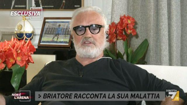 Non è l'Arena diretta 27 settembre - Flavio Briatore attacca Vincenzo De Luca