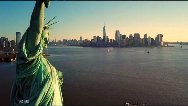Freedom - Oltre il confine diretta 11 settembre, Giacobbo parte da New York