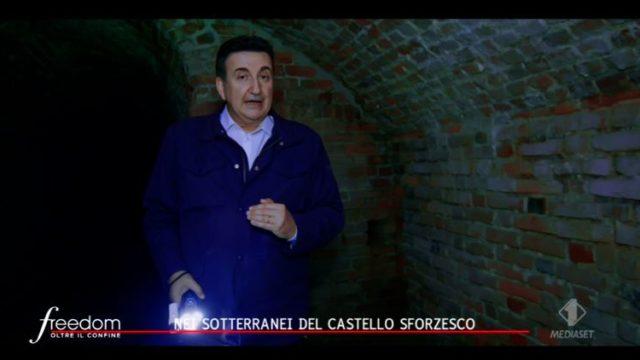 Freedom, Roberto Giacobbo al Castello Sforzesco di Milano