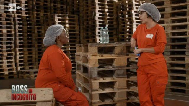 Boss in incognito diretta 8 settembre - Suzanne e Giovanna parlano a fine turno