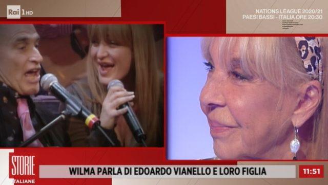 Storie italiane diretta 7 settembre - Susanna Vianello si esibisce con il padre Edoardo