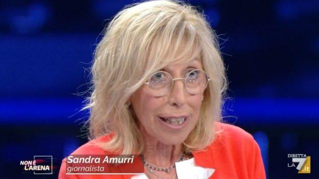 Non è lArena diretta 27 settembre - La giornalista Sandra Amurri