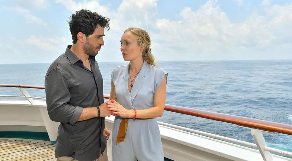 La nave dei sogni Antigua film finale