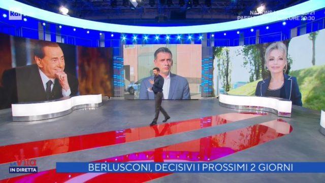 La vita in diretta prima puntata 7 settembre - le condizoni di Silvio Berlusconi
