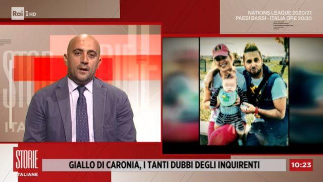 Storie Italiane diretta 7 settembre - Il giallo di Caronia