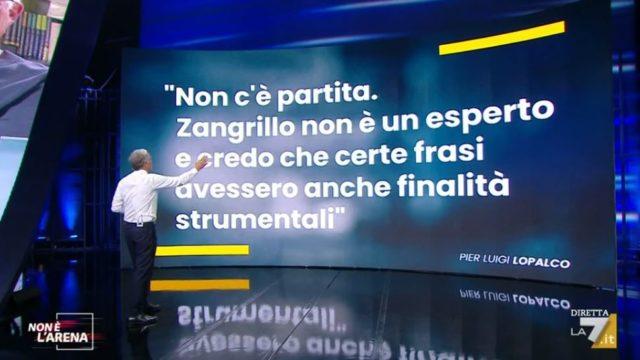 Non è lArena diretta 27 settembre - Le dichiarazioni di Lopalco