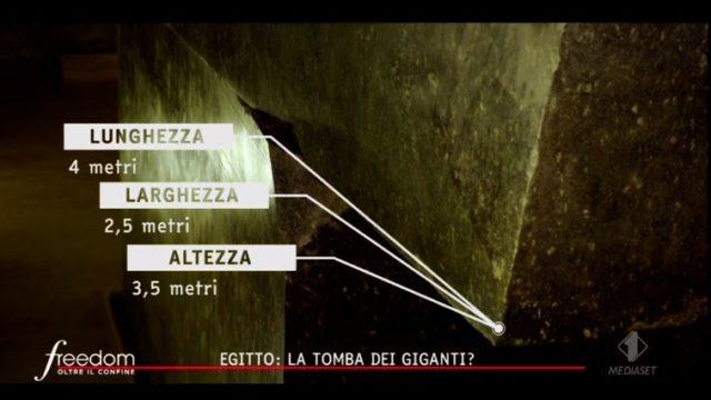 Le dimensioni dei sarcofagi nella necropoli di Saqqara