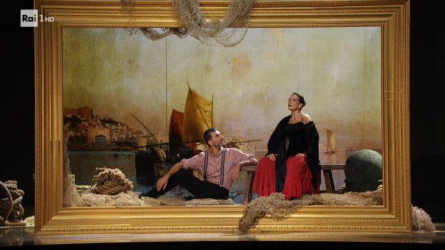 Ballando con le Stelle 26 settembre, diretta - Lina Sastri e Simone Di Pasquale