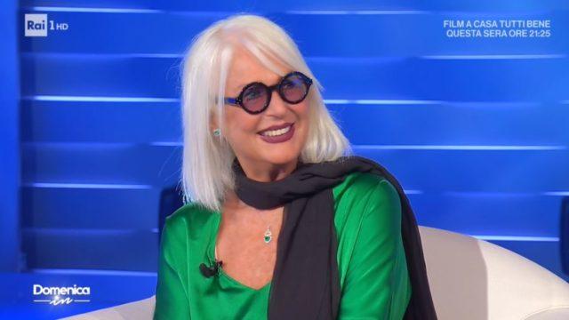 Domenica In diretta 13 settembre - Il look di Loretta Goggi