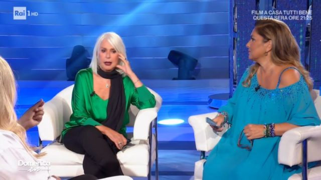 Domenica In - Loretta Goggi tre nuovi film